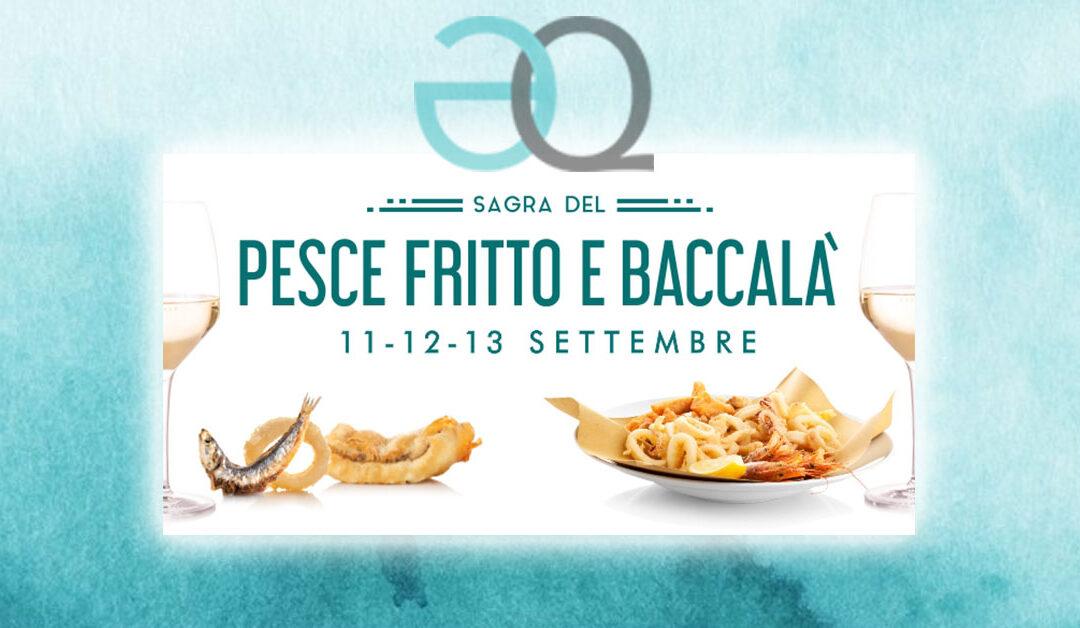 La Sagra del Pesce Fritto e Baccalà da Eataly a Roma